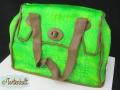 Kroko Handtasche mit Airbrush
