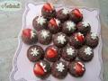 Erdbeerschokotörtchen