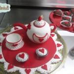 Torte in einem Cafe auf Terceira