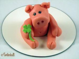 Anleitung Fondant Schweinchen